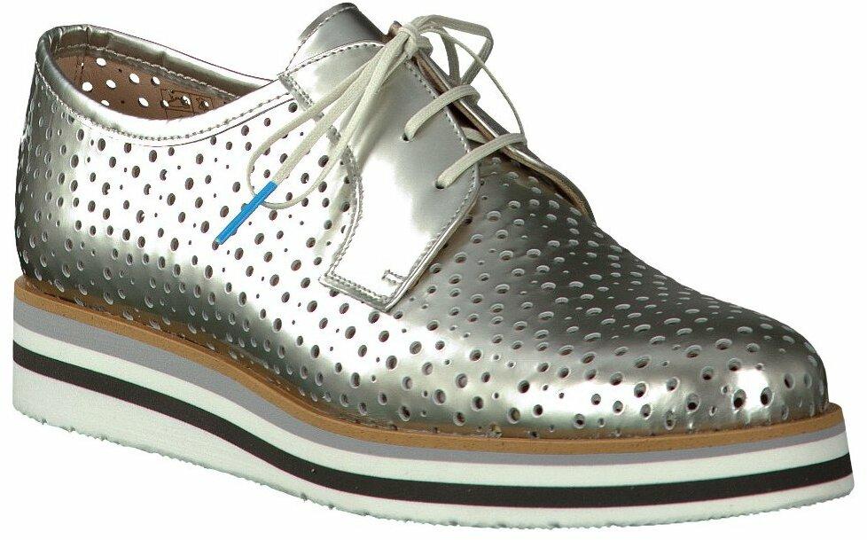 Pertini Schnürschuhe für Damen in Silber Schnürschuhe für