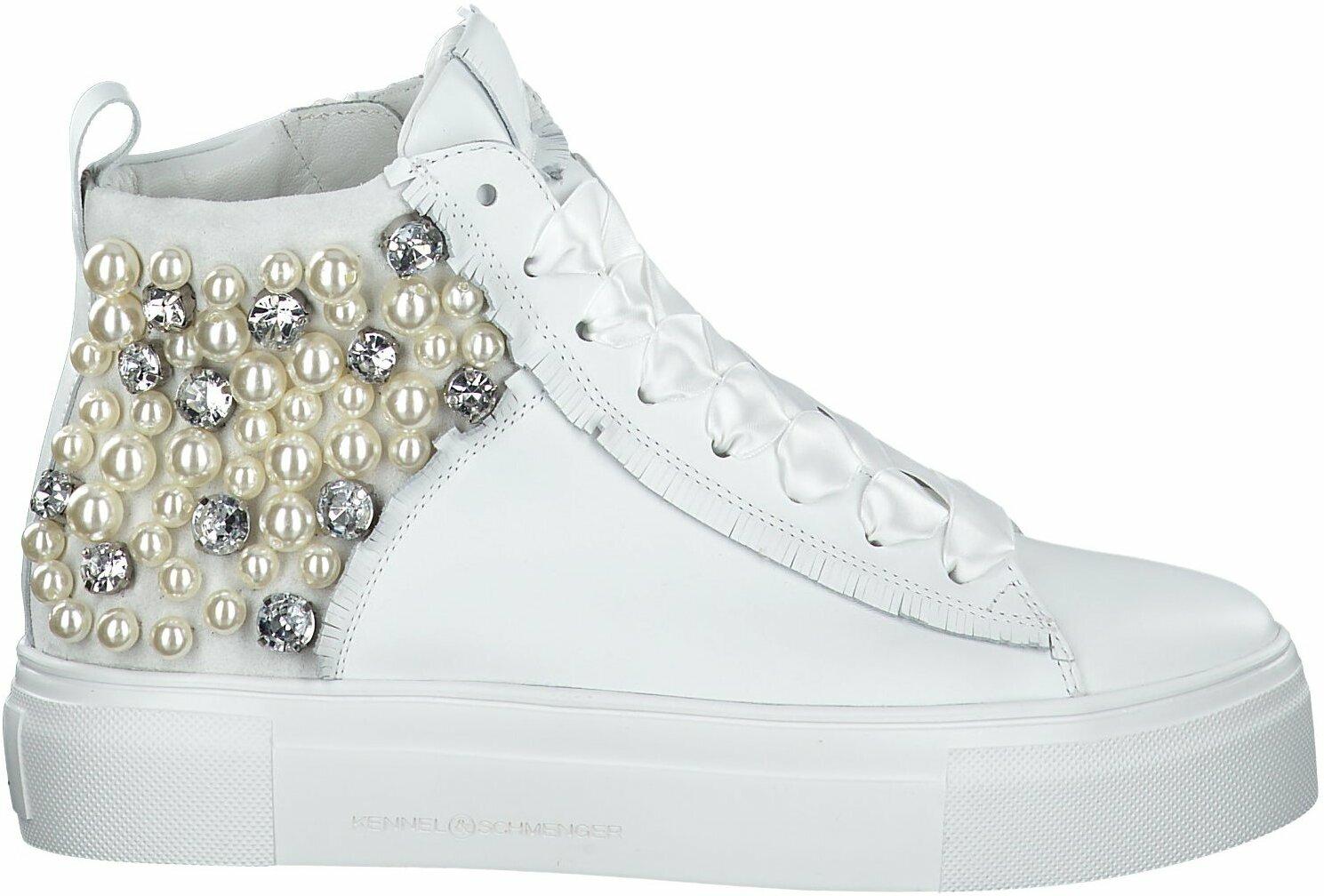 Prange: Weiße Leder Sneaker für Damen von Kennel & Schmenger Dy7n1
