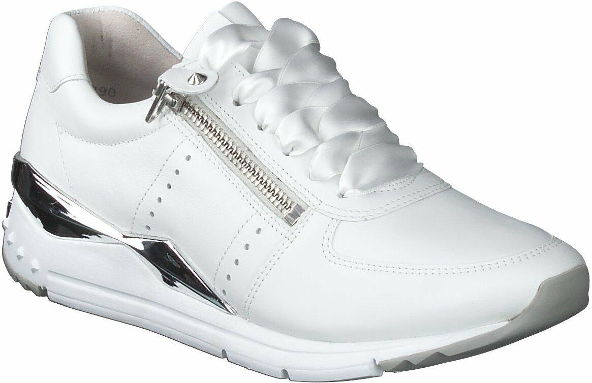 Prange: Weiße Leder Sneaker für Damen von Kennel & Schmenger